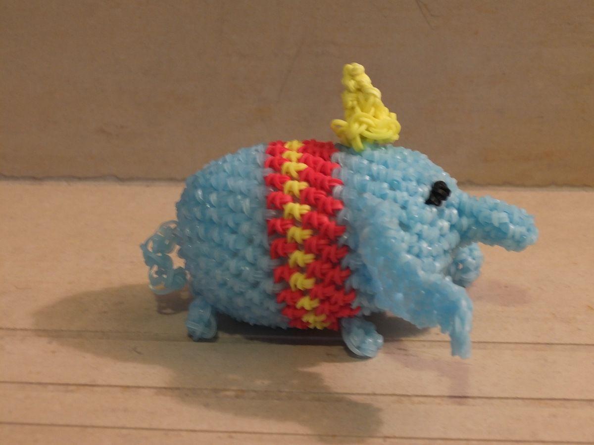 Dumbo loomigurumi