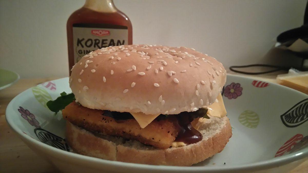Filet o Fish et Cheeseburger maison à la sauce Amora