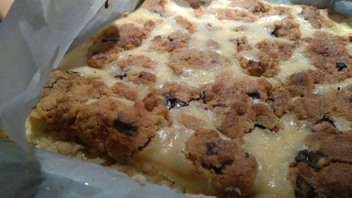 Carrés chocolat, beurre de cachuètes et cream cheese