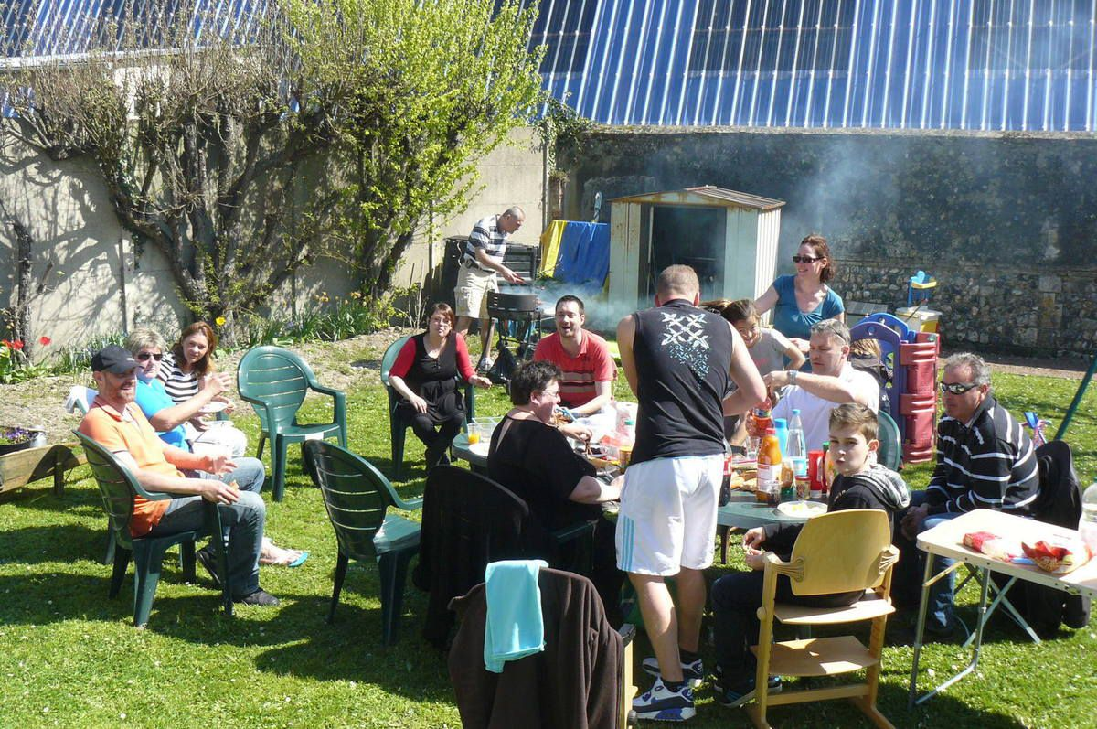 Le barbecue de fin d'Interclubs