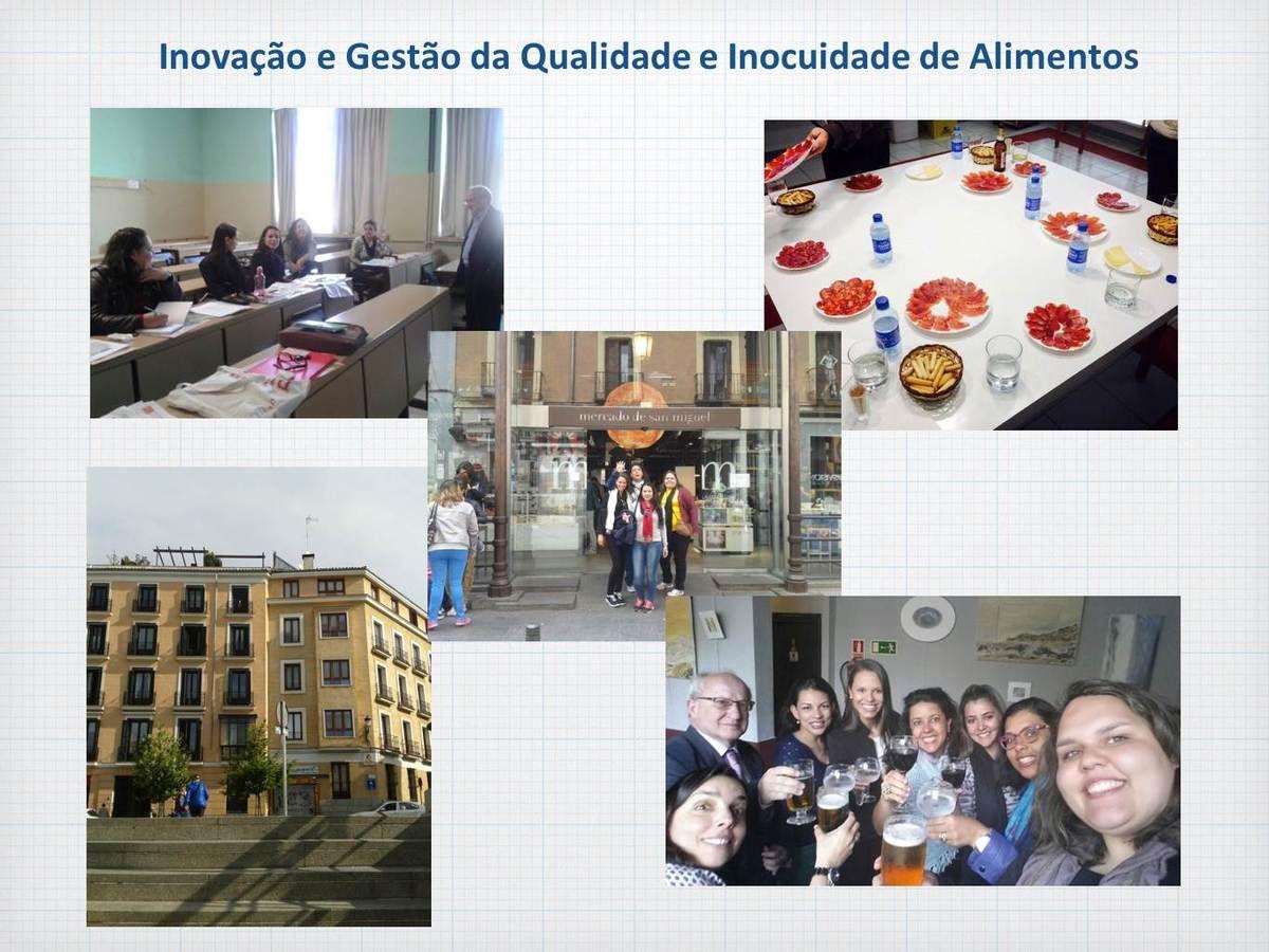 Inovação e Qualidade de Alimentos - 2016