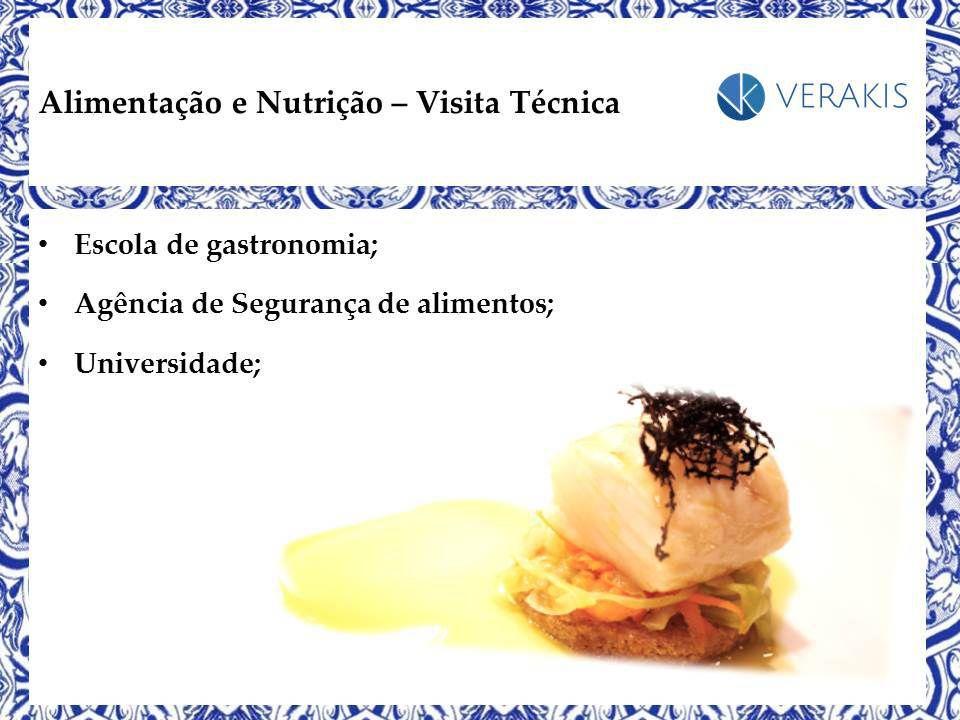 Alimentação e Nutrição - Visita Técnica em Portugal - Maio de 2016