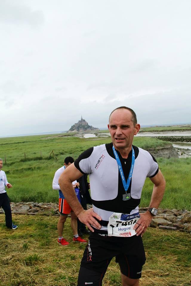 marathon du mont st Michel