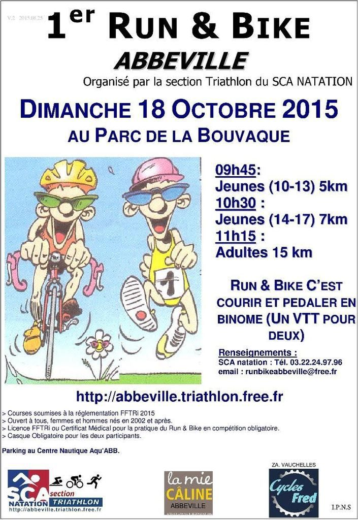 RUN and BIKE a Abbeville
