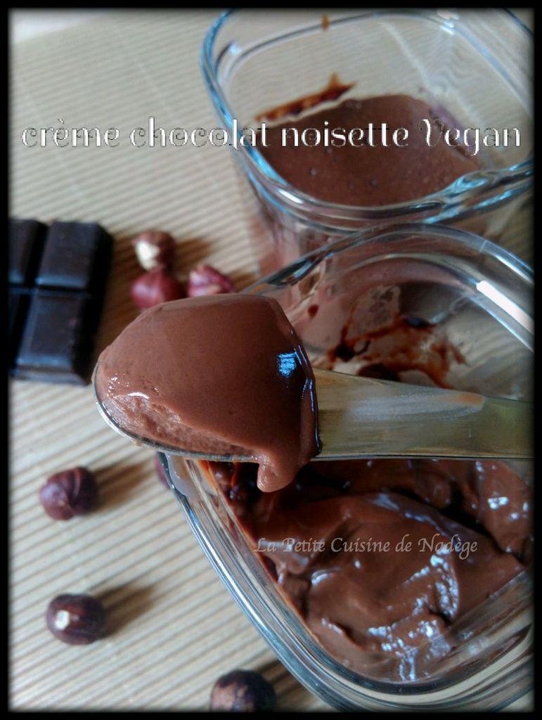 Comme une Danette chocolat noisette VEGAN (sans lait, sans oeuf, sans gluten)