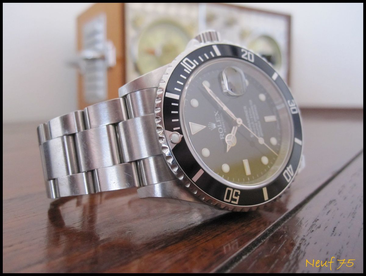 evolution du prix d 39 une rolex submariner date neuve un jour des montres. Black Bedroom Furniture Sets. Home Design Ideas