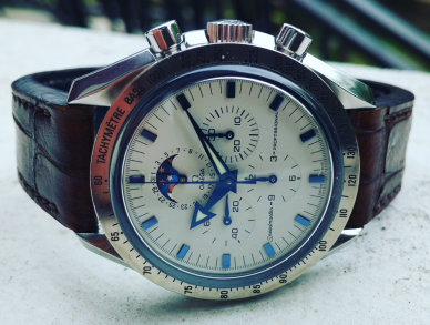 Omega Speedmaster Broad Arrow Moonphase