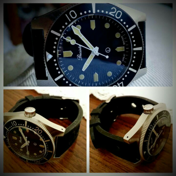 PRECISTA ROYAL NAVY DIVER PRS-82