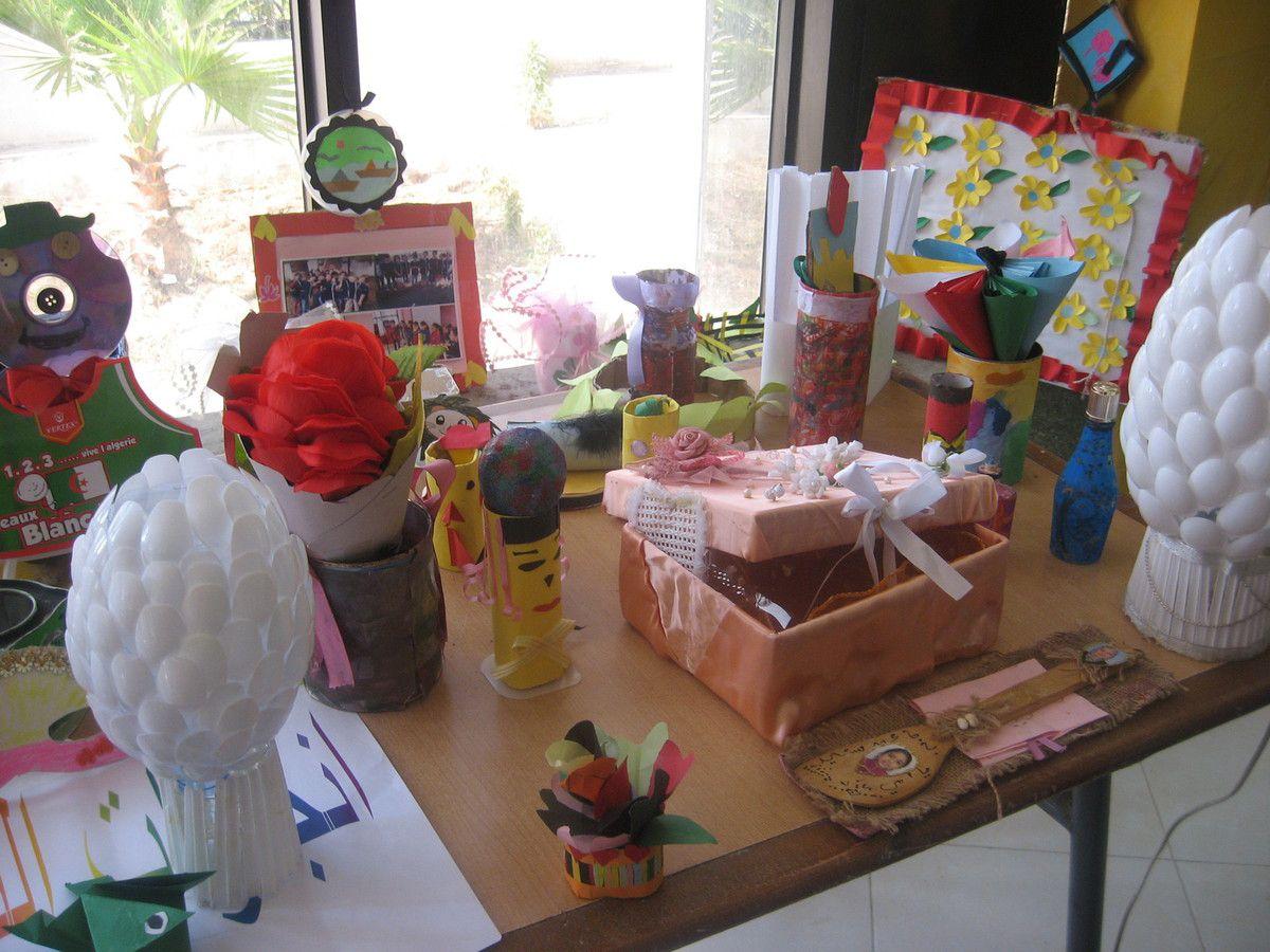 Mon petit atelier bricolage ..et ..recyclage  ( avec les enfants )