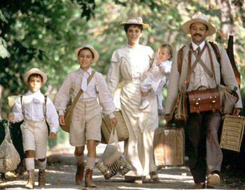 La famille Pagnol qui part en vacances