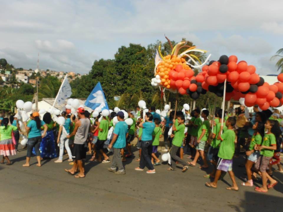 Les jeunes en action à Cariacica
