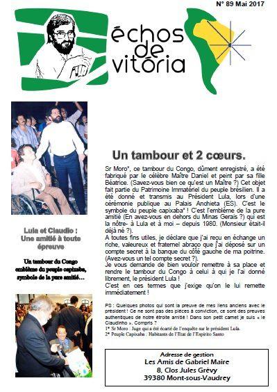 Echos de Vitoria n°89