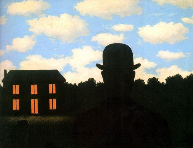 L'empire des lumières, René Magritte (1964)