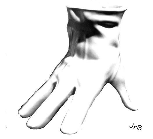 Là où le mot caresse, la main paresse