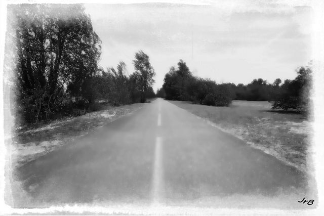 La route est longue, surtout vers la fin...