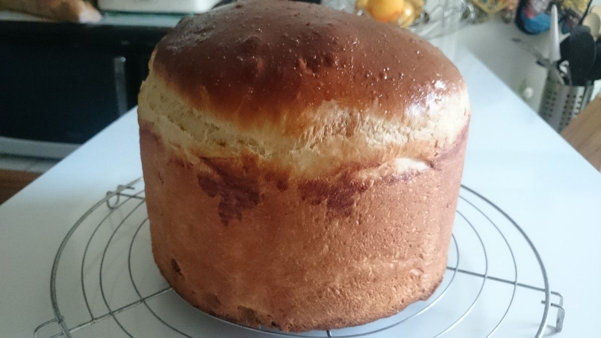Panettone au Cooking Chef
