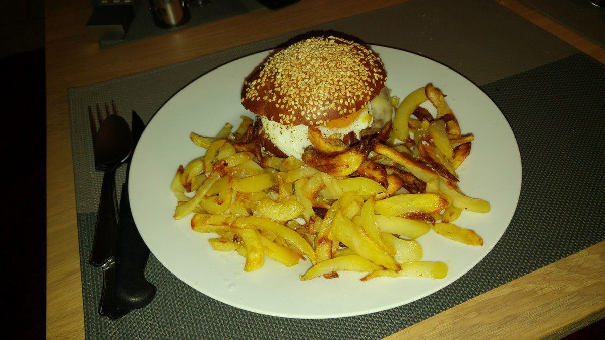 Frites au Cooking Chef