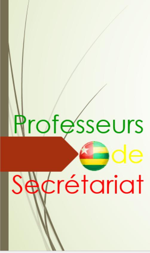 Classement Le Site Des Professeurs De Secretariat Au Togo