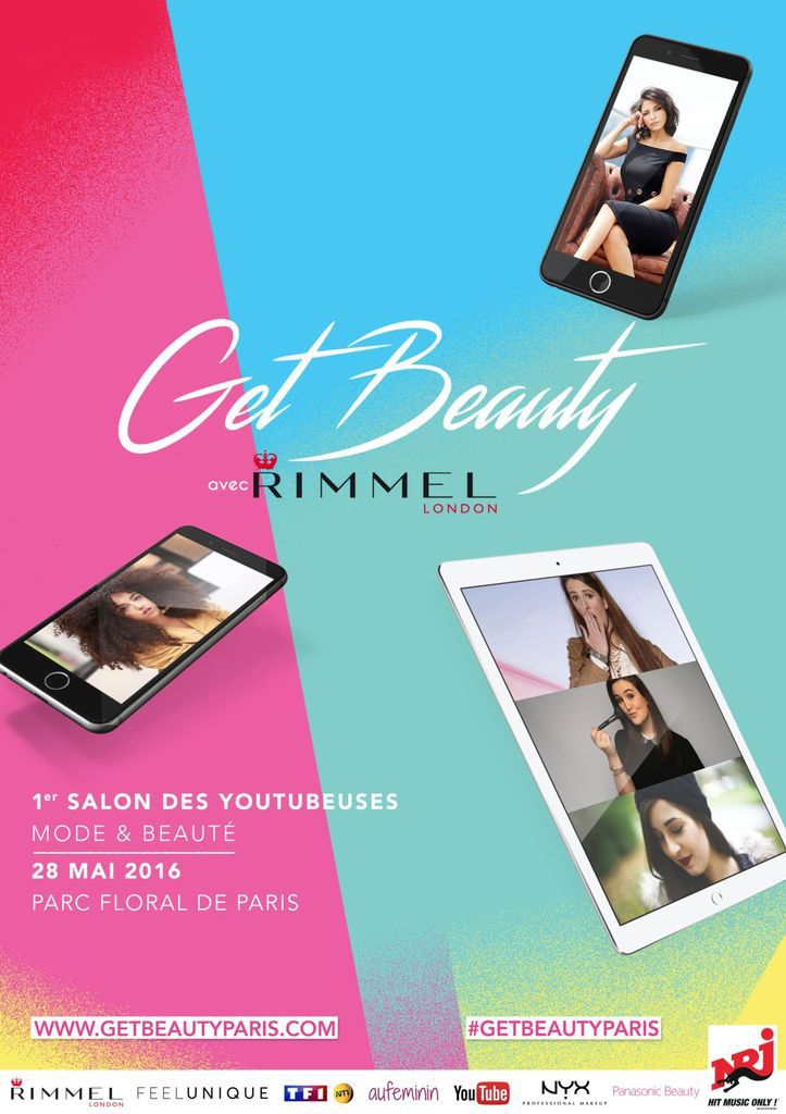 Get Beauty, le premier salon des Youtubeuses mode & beauté