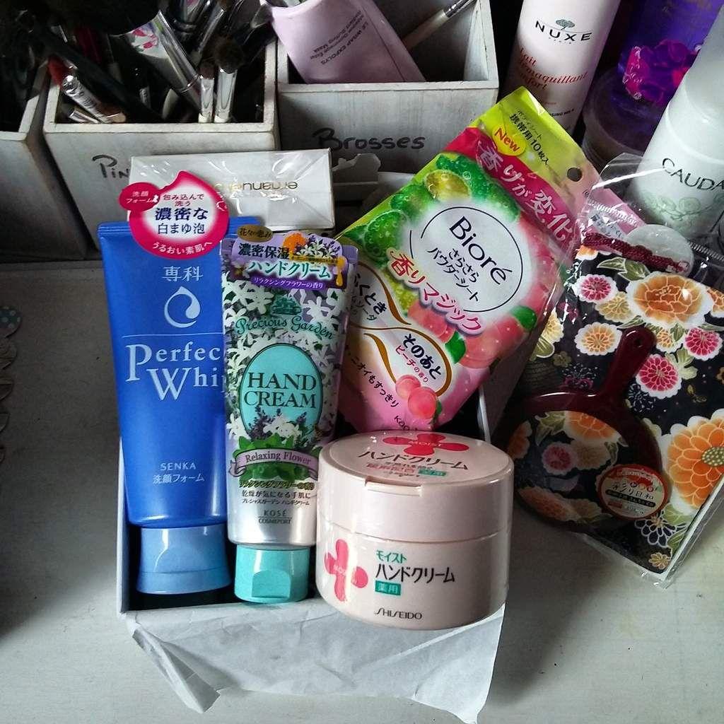 Concours : Je vous ai rapporté des cosmetiques de mon voyage au Japon ��