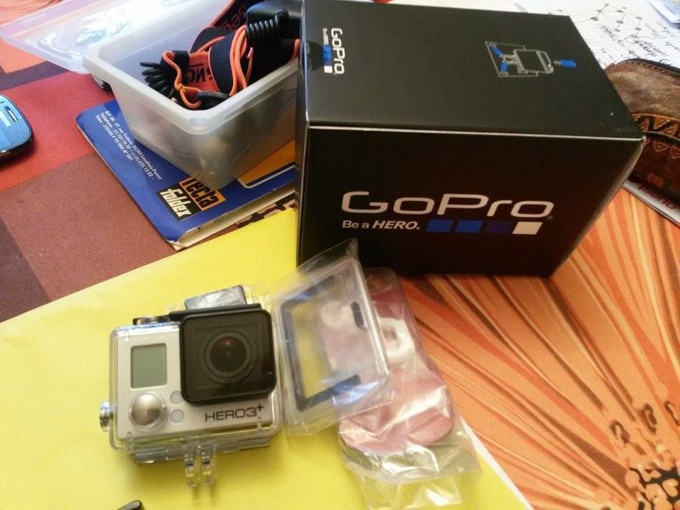 Gopro hero 3 édition silver