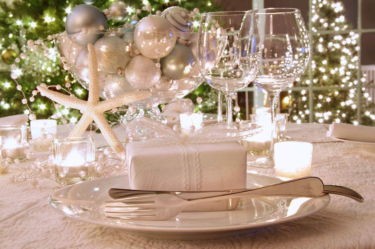 Les plus belles tables de Noël !
