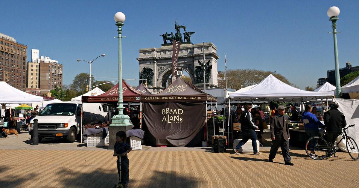 Le samedi c'est le marché à Brooklyn : Grand Army Plaza Greenmarket