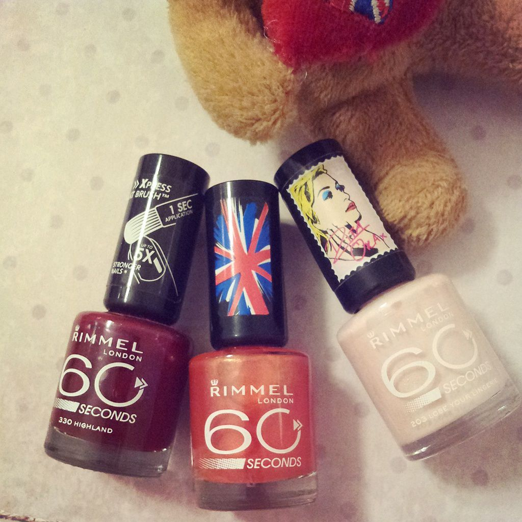 Les vernis 60 secondes de Rimmel London