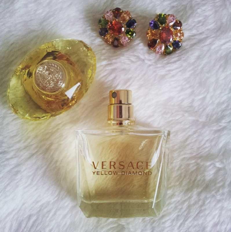 Yellow Diamond de Versace, ma fragrance idéale pour cet été