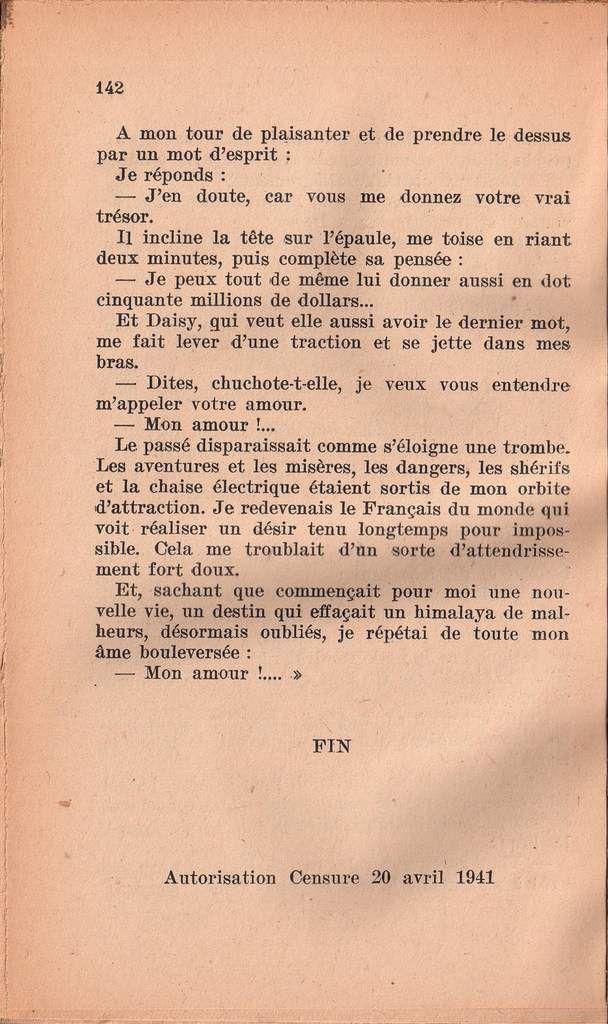 """G.-A. Dunan """"Le Coureur d'aventure"""" (Ophrys - 1941)"""