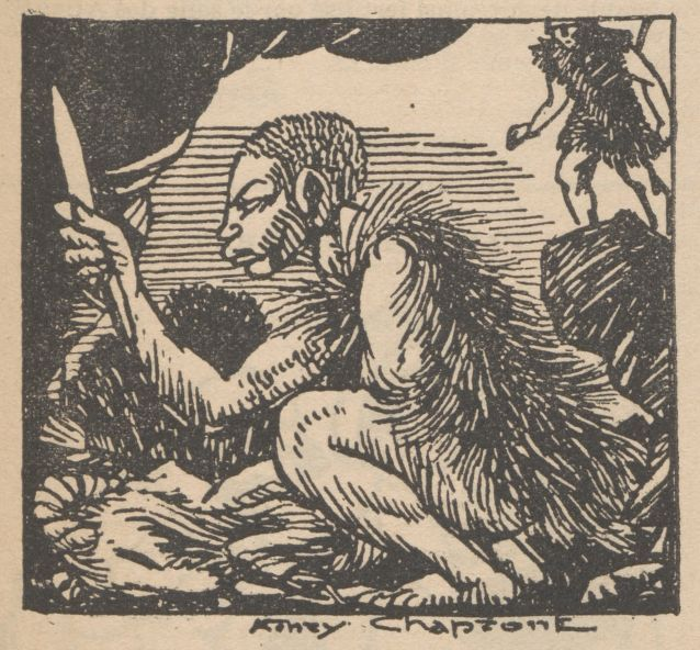 """Renée Dunan """"Le Métal, Histoire d'il y a vingt mille ans [1]"""" (1920)"""