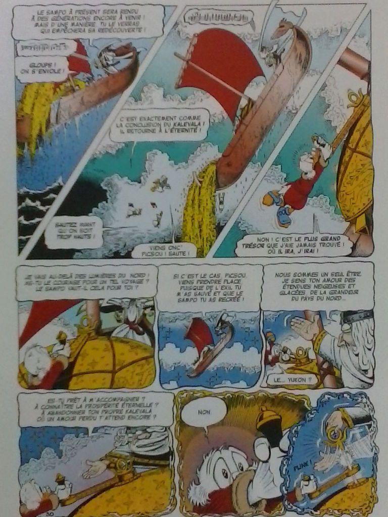 Picsou - La quête du Kalevala