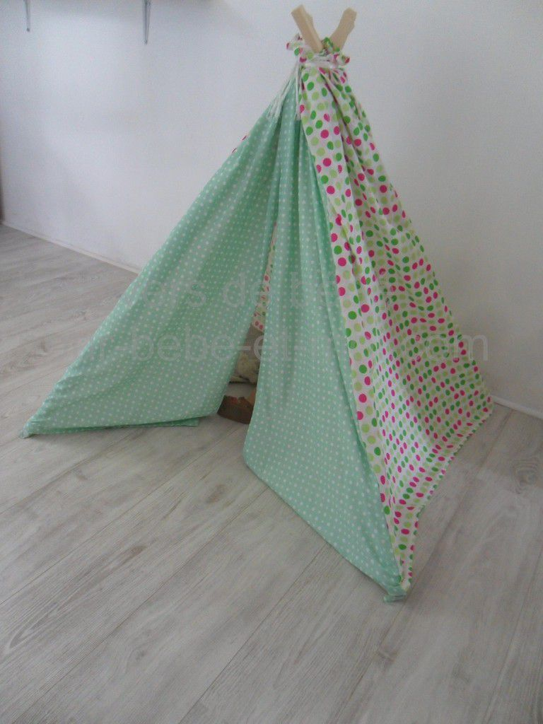 tipi enfant jardin secret l 39 univers de b b cr ation. Black Bedroom Furniture Sets. Home Design Ideas