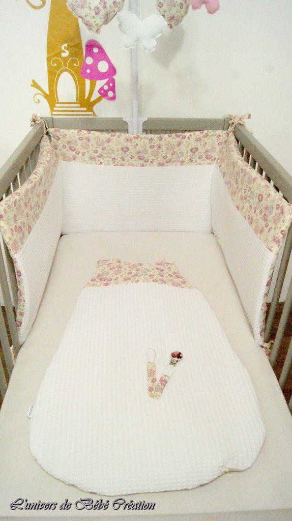 créer un tour de lit bébé Tour de lit gigoteuse mobile panier liberty   L'univers de Bébé  créer un tour de lit bébé
