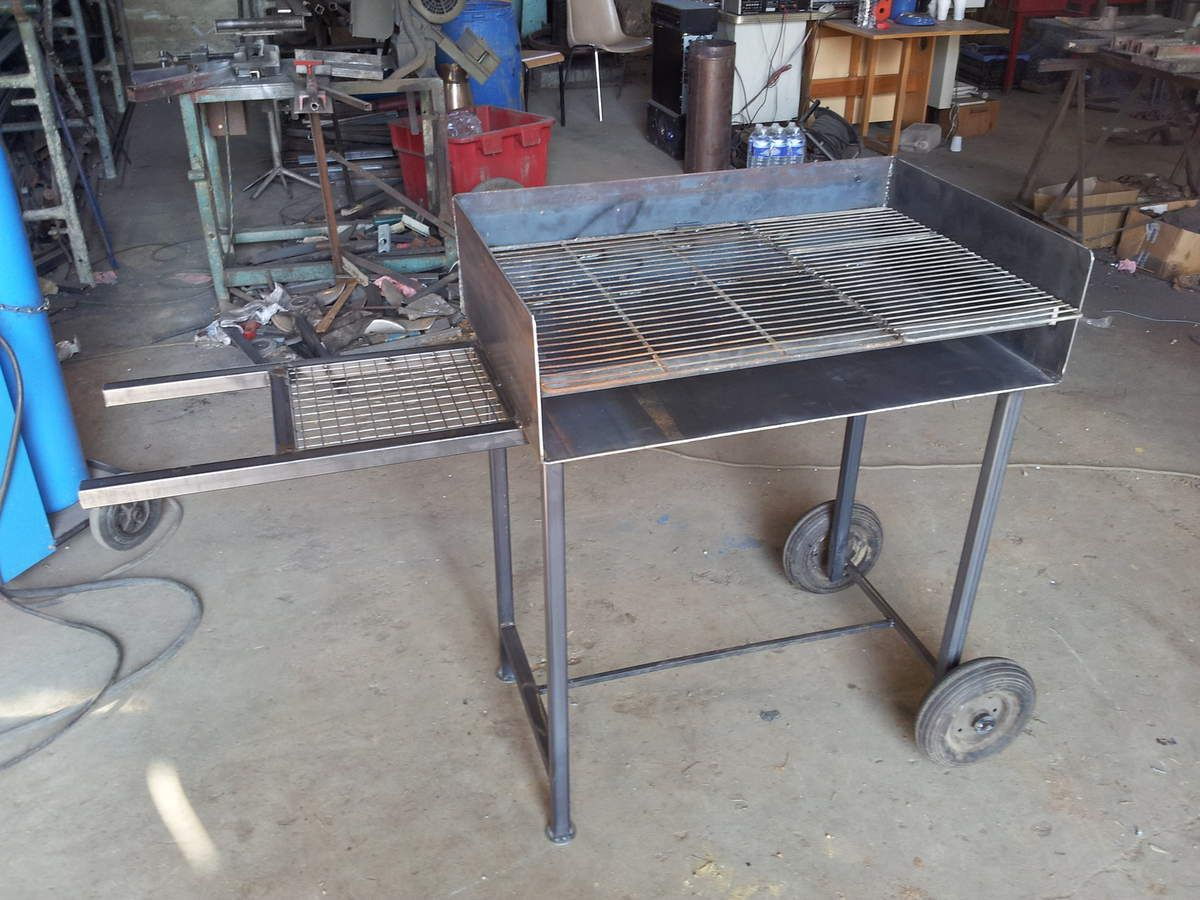 Fabrication dun barbecue for Fabrication barbecue exterieur