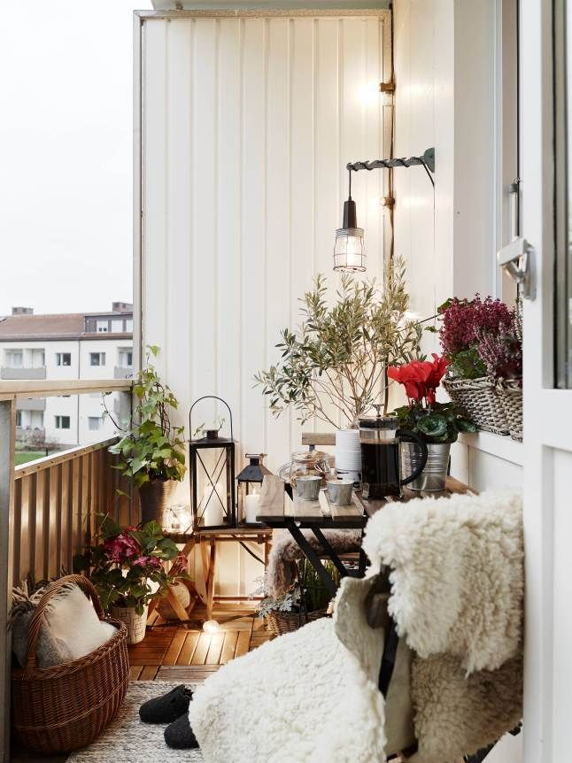 Inspirations : Le balcon