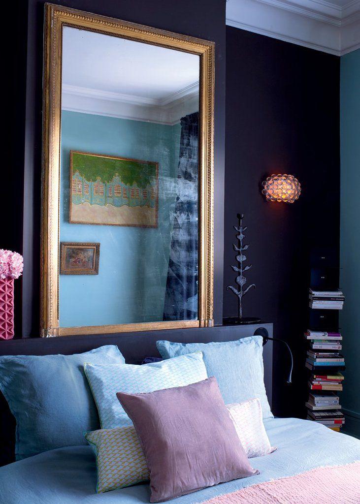 Appartement haussmannien les derni res pluies for Chambre mauve et rose