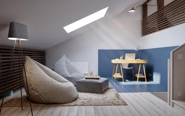 Maison à l'ambiance scandinave