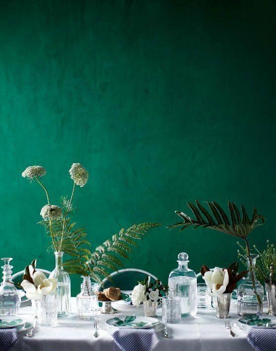 Inspirations: Le Vert Emeraude