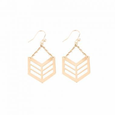 Boucles d'oreilles Berin - Mademoiselle S - 77 euros - Inspirations