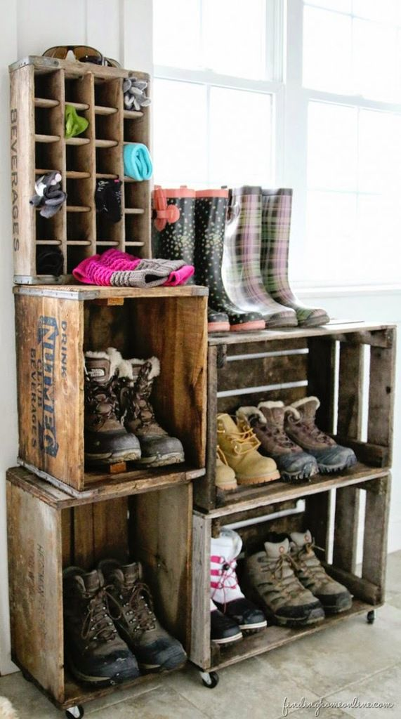 Inspirations: Rangements Chaussures