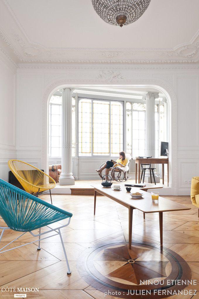 Incroyable rénovation à Bordeaux.