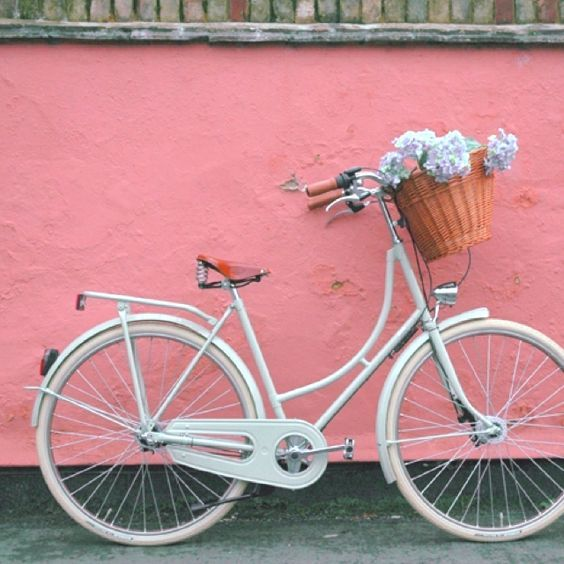 Inspirations: A bicyclette!