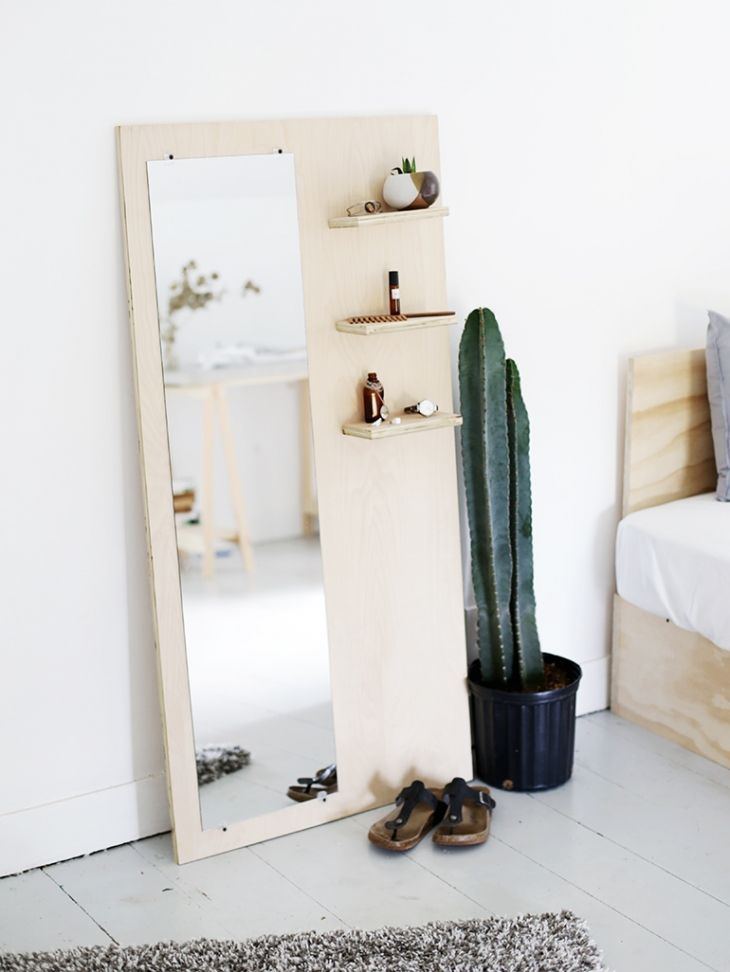 http://themerrythought.com/diy/diy-plywood-floor-mirror/
