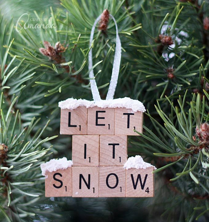http://craftsbyamanda.com/let-snow-scrabble-tile-ornament/