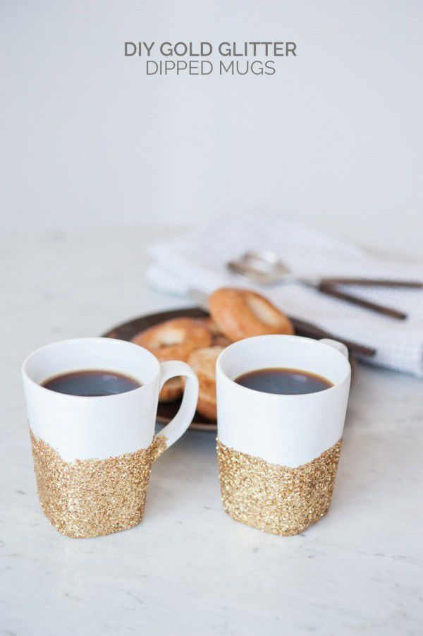 http://www.thesweetestoccasion.com/2015/05/diy-gold-glitter-dipped-mug/