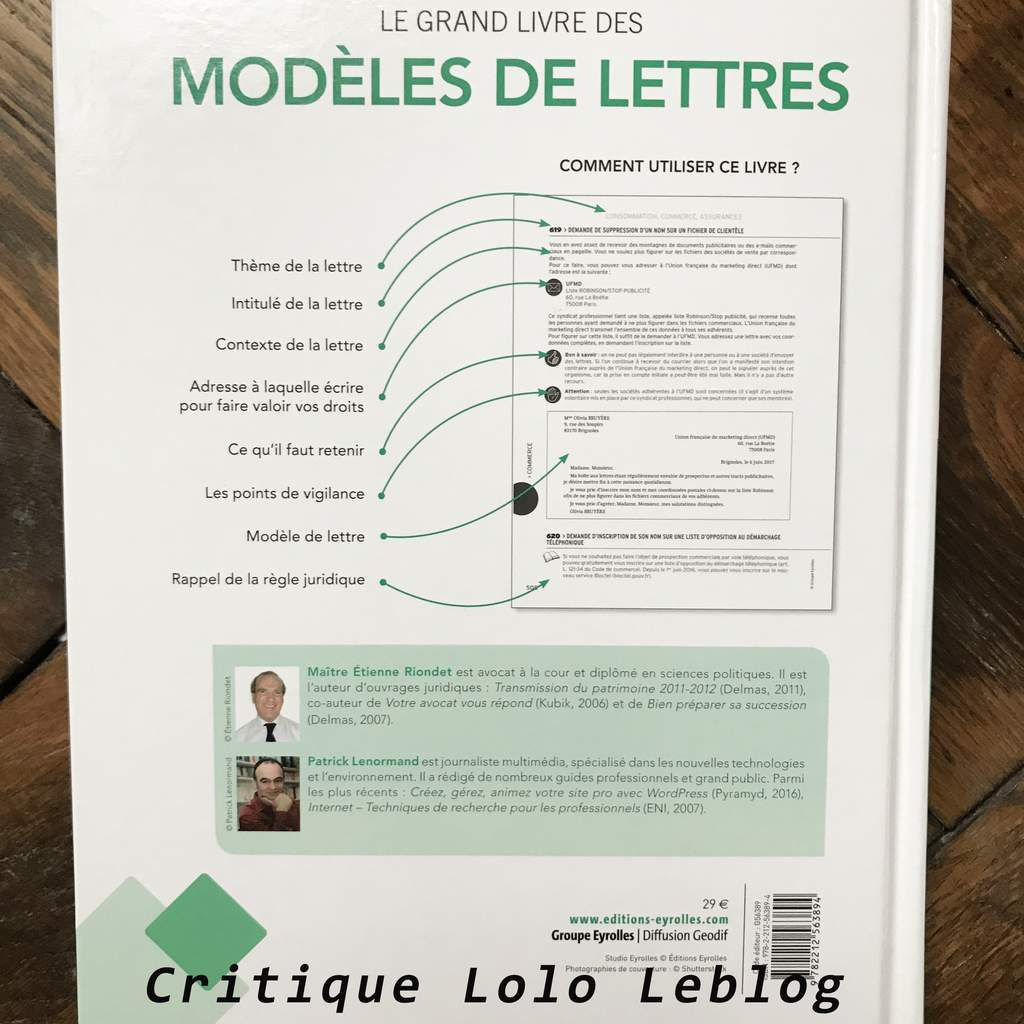 le grand livre des mod les de lettres lolo leblog. Black Bedroom Furniture Sets. Home Design Ideas