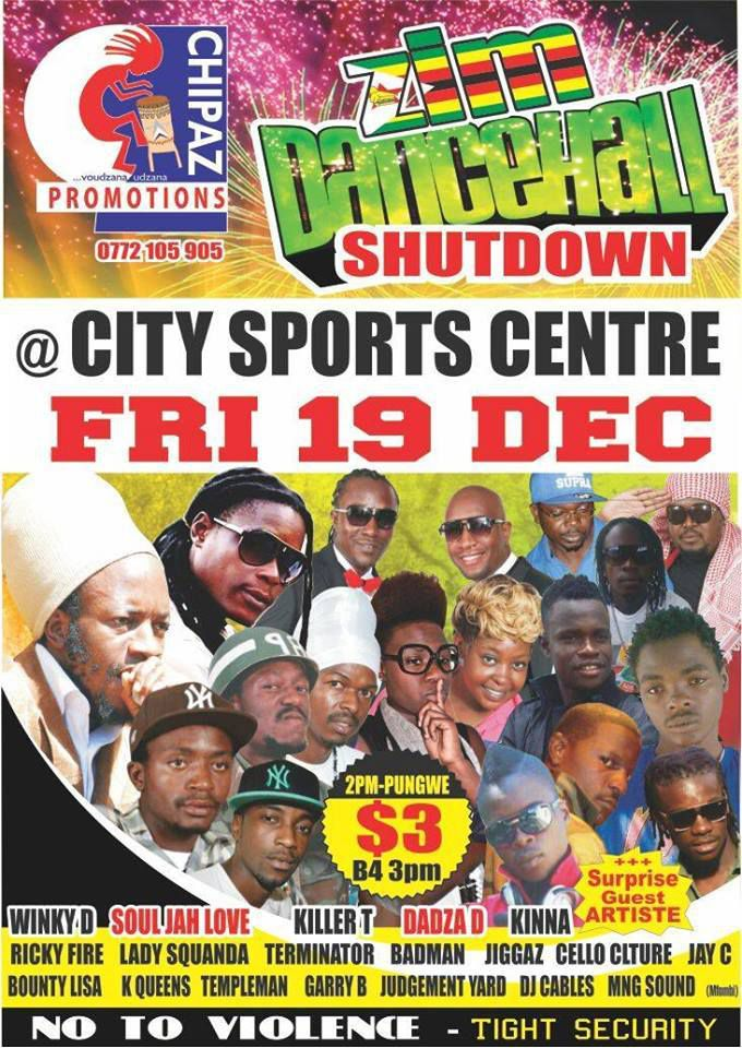 BACK AGAIN IN CITY SPORTS CENTRE >>FRIDAY 29DEC