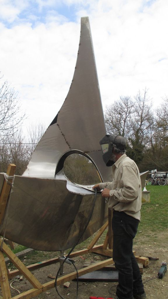Samedi 18 Avril : Inauguration de la sculpture monumentale dans notre atelier