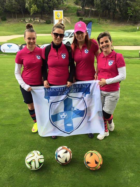 Marseille Provence FootGolf team féminine